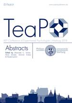 60. TeaP 2018 Abstracts of the 60h Conference of Experimental Psychologists